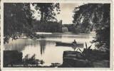 Craiova Parcul Bibescu Lacul carte postala