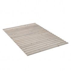 Somiera rola Burbia II, lemn masiv de pin, 80x200