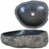 Chiuvetă din piatră de râu 30-37 cm oval