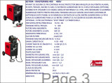 Aparat sudura trifazic MIG-MAG MASTERMIG 400, 230-400V