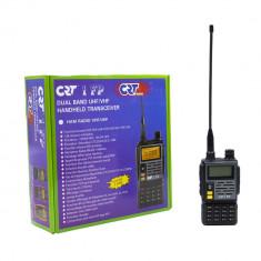 Aproape nou: Statie radio VHF/UHF portabila CRT 1 FP HAM dual band 136-174 si 400-4