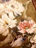 Tablou ulei pe panza semnat Aglae, Flori, Impresionism