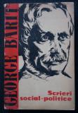 George Bariț - Scrieri social-politice