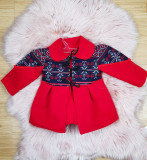 Cumpara ieftin Palton Traditional fetite - Kara, 3-6 luni, 6-9 luni