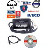 Emulator  Adblue  Anulare Senzor NoX Euro4 si Euro5 MAN IVECO VOLVO DAF - 8 in1