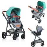 Carucior Kiddo Jazz 3 in 1 Transformabil Mint