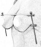 Accesoriu Sani Bondage BDSM Reglabil Otel Inoxidabil Restrained