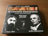 10 concerte memorabile pentru pian si orchestra daniel barenboim radu lupu 6 cd