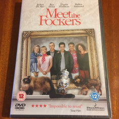 MEET THE FOCKERS (1 DVD original film subtitr. engleza - Nou, in tipla!)