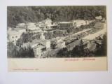 Carte postala Băile Herculane/Herkulesbad,necirculata cca.1900, Fotografie, Baile Herculane