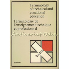 Terminology Of Technical And Vocational Education