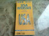 USA INTERSTATE MAP BOOK (CONTINE HARTI PLIATE)