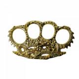 Rozeta, tip Box-Pumnal, model Fire Dragon Skin, auriu