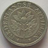 Moneda exotica 1 CENT - ANTILELE OLANDEZE (Caraibe), anul 1992 * cod 978, America Centrala si de Sud, Aluminiu
