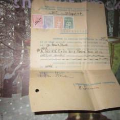 certificat  cetatenie  eleva semnat de primarul capitalei an 1947 n26