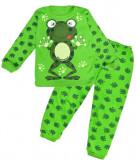 Pijama din bumbac model broscuta
