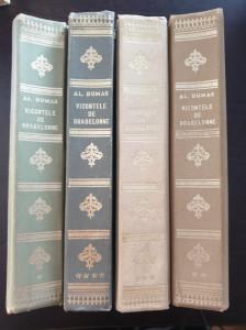 VICONTELE DE BRAGELONNE - Al. Dumas (4 volume)