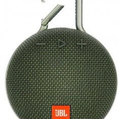 Boxa Portabila JBL Clip 3, Bluetooth, Waterproof (Verde)