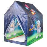 Cort de Joaca pentru Copii IPlay, Casuta Astronaut, 95x72x102 cm