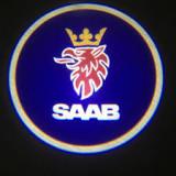 Cumpara ieftin Set 2 Lampi Proiectoare Led Logo Universale Saab(cu baterii)
