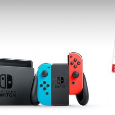 Consola NINTENDO Switch Neon Red/Blue + memorie 128 GB