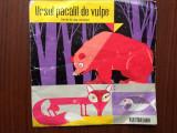 "ursul pacalit de vulpe basm de ion creanga disc vinyl single 7"" poveste pt copii"