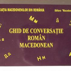 GHID DE CONVERSATIE ROMAN - MACEDONEAN, L Rogobete/ Mihajlov, 2012. Absolut nou