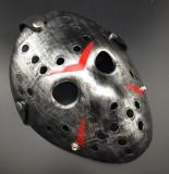 Masca Jason Vorhees Vineri 13 Freddy Krueger neagra argintie galbena, Marime universala, Argintiu, Galben, Negru