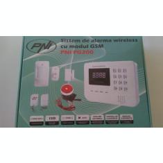 Sistem de alarma wireless PNI PG200 comunicator GSM/PTSN pentru 99 de zone