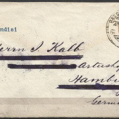 India 1901 Vintage envelope send from CALCUTA to GERMANY D.029