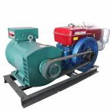 Generator diesel 20kw monocilindru, racire cu apa, pornire electrica