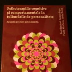 PSIHOTERAPIILE COGNITIVE SI COMPORTAMENTALE IN TULBUIRARILE DE PERSONALITATE-