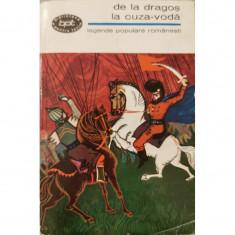 De la Dragos la Cuza-Voda - Legende populare romanesti