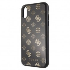 Husa de protectie, Guess Peony, iPhone XR, Negru
