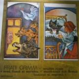 Disc vinil,Fratii Grimm-SCUFITA ROSIE/ACUL,FUSUL SI SUVEICA/BUNICUL SI NEPOTUL