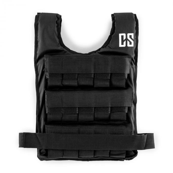 Capital Sports Monstervest, vestă cu greutate, 25 kg, uni-size, nailon, neagră