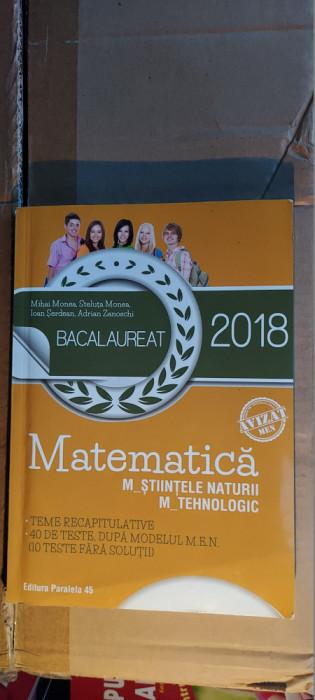MATEMATICA M STIINTELE NATURI , M TEHNOLOGIC TEME RECAPITULATIVE SERDEAN