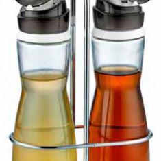 Set sticle 2 buc. cu suport pentru ulei,otet M-352001 MAREA Raki