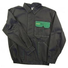 Bluza lucru negru verde marimea L 260g m2