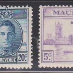 Anglia / Colonii, MAURITIUS 1946 - Victory  - seria Omnibus, MNH