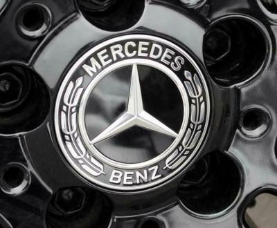 Capace jante Mercedes new black foto