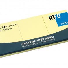 Set Notes adeziv Yellow
