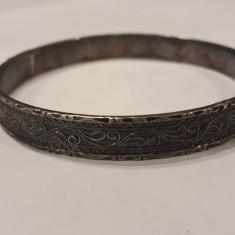BRATARA argint ETNICA TRIBALA INDIA RAJASTHAN catusa SPLENDIDA marcaje VECHI