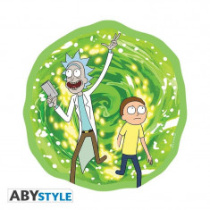 Mousepad ABYStyle Rick and Morty Portal in shape