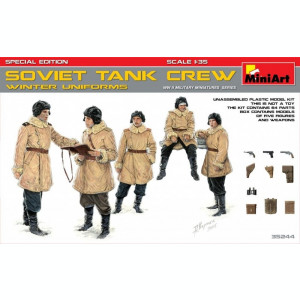 1:35 Soviet Tank Crew (Winter Uniforms) - Special Edition - 5 figures 1:35