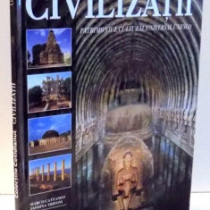 CIVILIZATII, ASIA: INDIA, AFRICA: LIBIA, PATRIMONIUL CULTURAL UNIVERSAL UNESCO de MARCO CATTANEO, JASMINA TRIFONI, VOL V , 2004