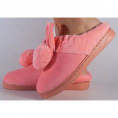 Papuci de casa roz (cod 418005)