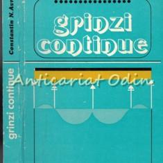Grinzi Continue - Prof. Ing. Constantin N. Avram