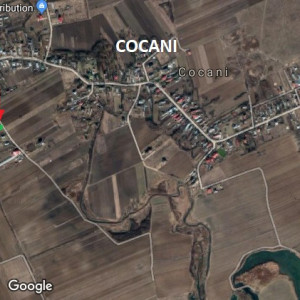 OCAZIE - teren CREVEDIA sat Cocani 1700 mp langa padure
