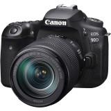 Aparat foto DSLR Canon EOS 90D 32.5 Mpx Kit 18-135 IS USM